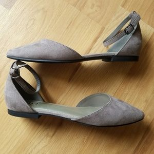 a.n.a flats with ankle strap